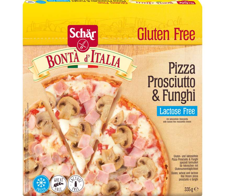 Pizza Prosciutto & Funghi