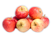 Jablká červené Idared 1 kg