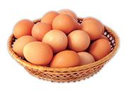 Vajcia slepačie čerstvé veľkosť M 10 ks 1 bal.