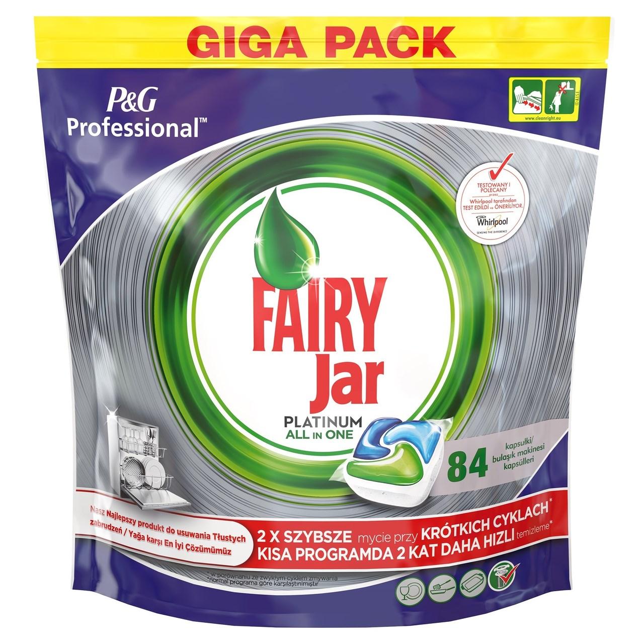Jar Fairy tablety do umývačky 1x84 ks