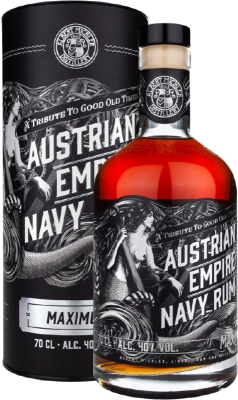 Austrian Empire Navy Rum Maximus 40% 0,70 L