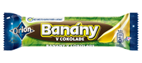 Banány v čokoláde, 45g