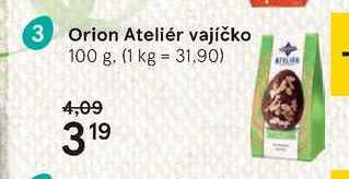 Orion ateliér vajíčko, 100 g