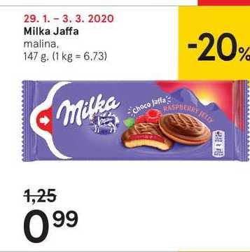 Milka Jaffa, 147 g