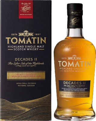 Tomatin Decades II Limited Highland Single Malt 46% 0,70 L