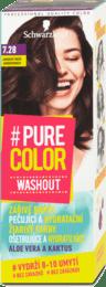Farba na vlasy #Pure Color Washout, 7.28 jahodovohnedý