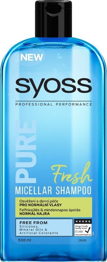 Syoss Pure Fresh šampón na vlasy 1x500 ml