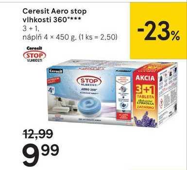 Ceresit Aero stop vlhkosti 360