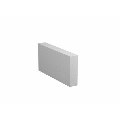 Priečkovka hladká 500 mm x 100 mm x 250 mm biela