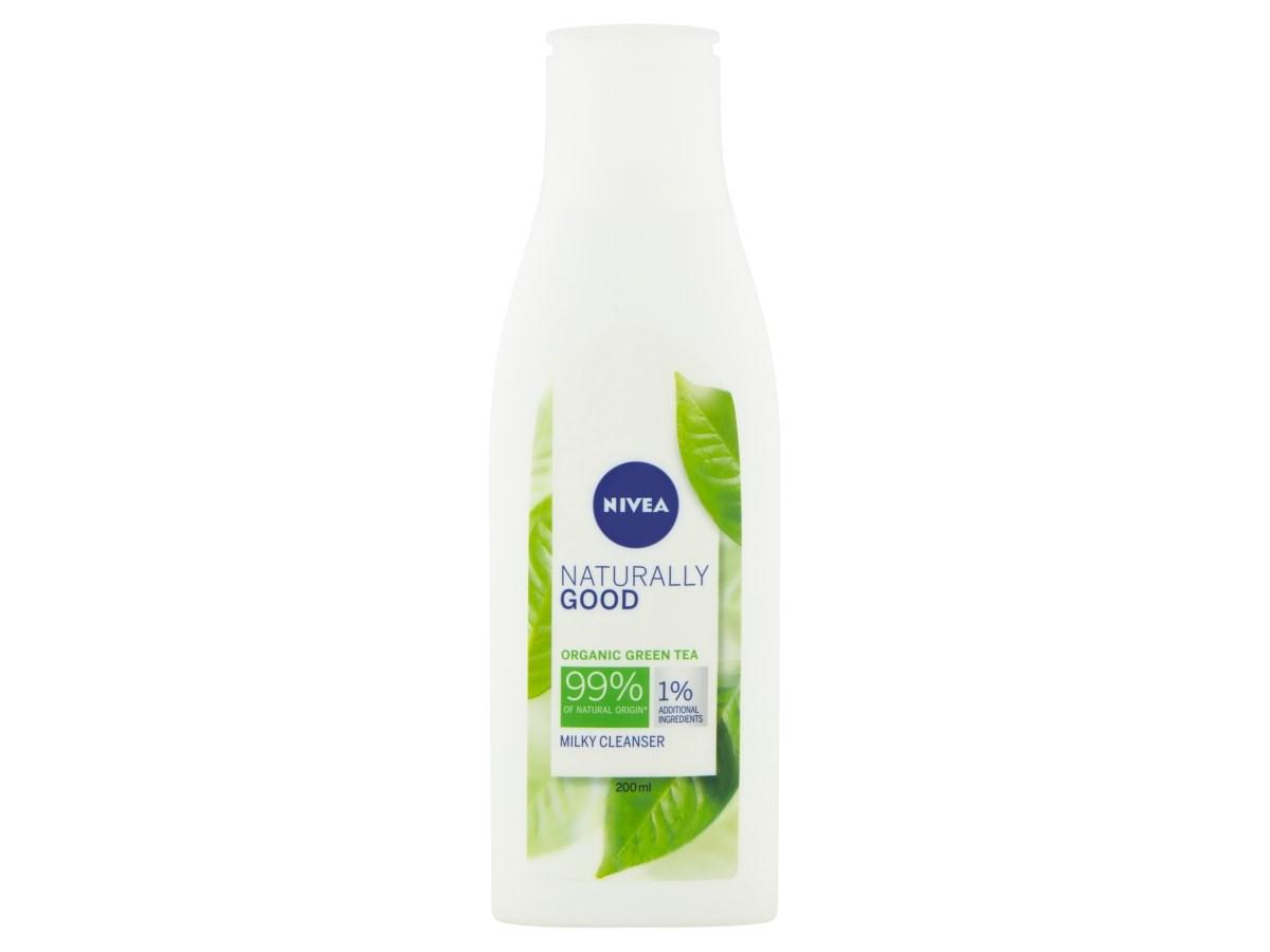 Nivea Naturally Good pleťové mlieko 1x200 ml