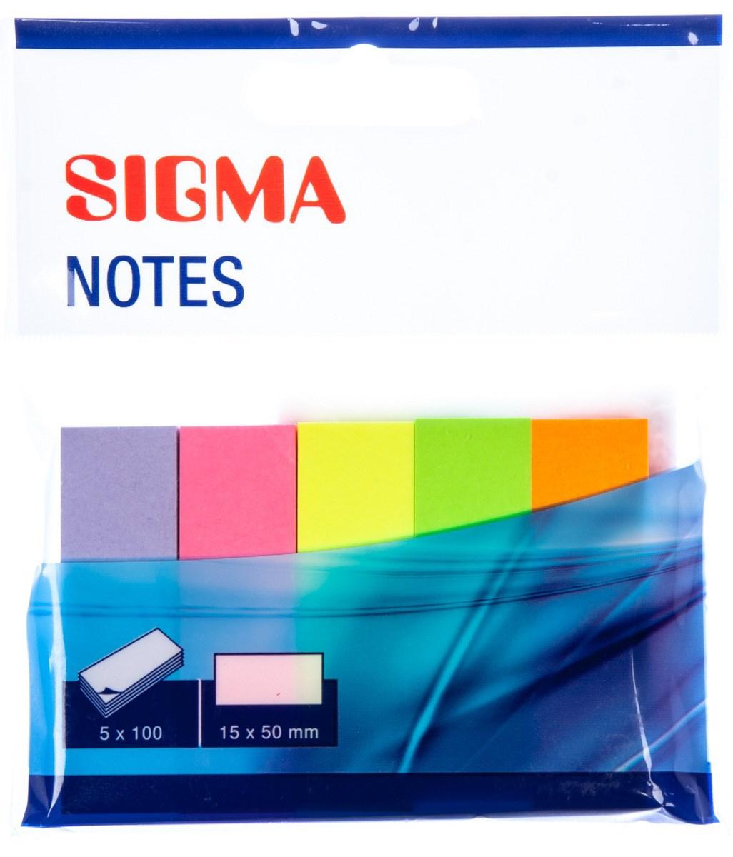 Záložka brilliant 100listov SIGMA 5ks