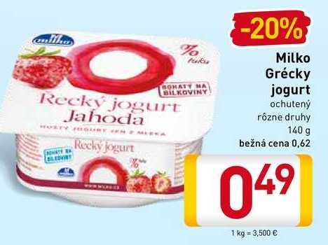 Milko Grécky jogurt 140 g