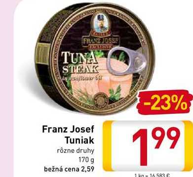 Franz Josef Tuniak 170 g