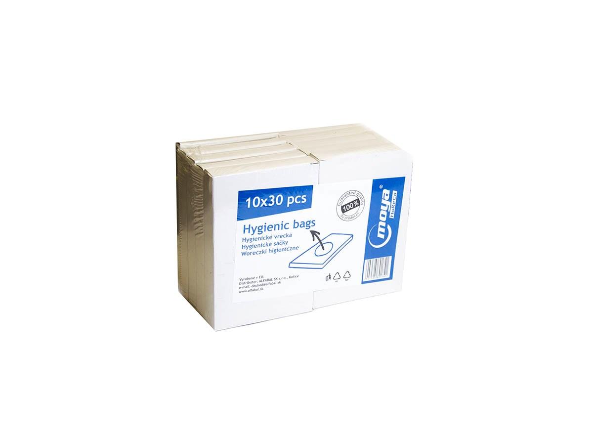 WC hygienické vrecká Moya 10x30 ks