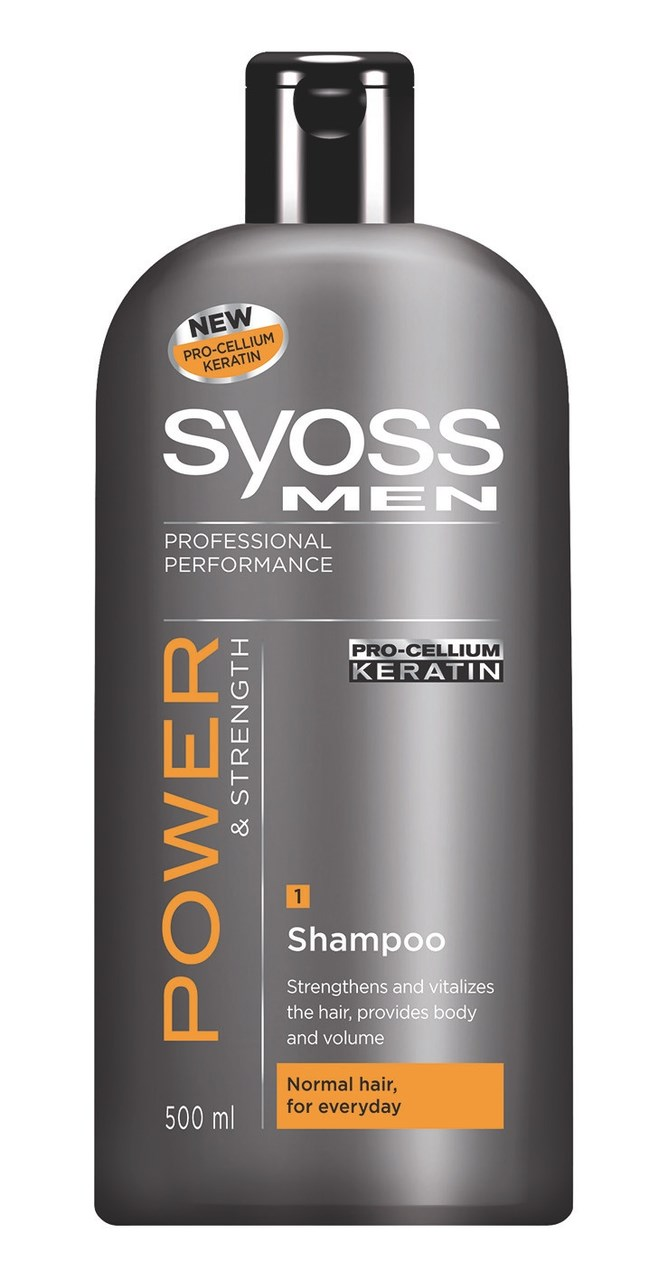 Syoss Men Power šampón na vlasy 1x500 ml