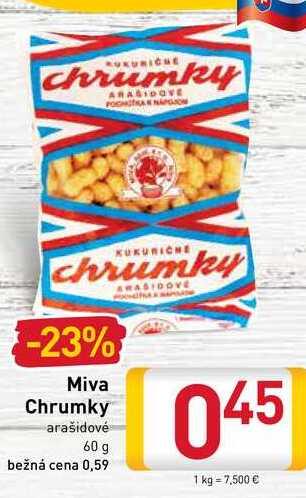 Miva Chrumky  60 g