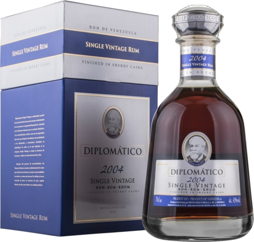 Diplomatico Single Vintage 2004 43% 0,70 L