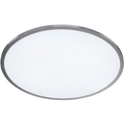 Wofi Stropné LED svietidlo Linox strieborné s reguláciou jasu