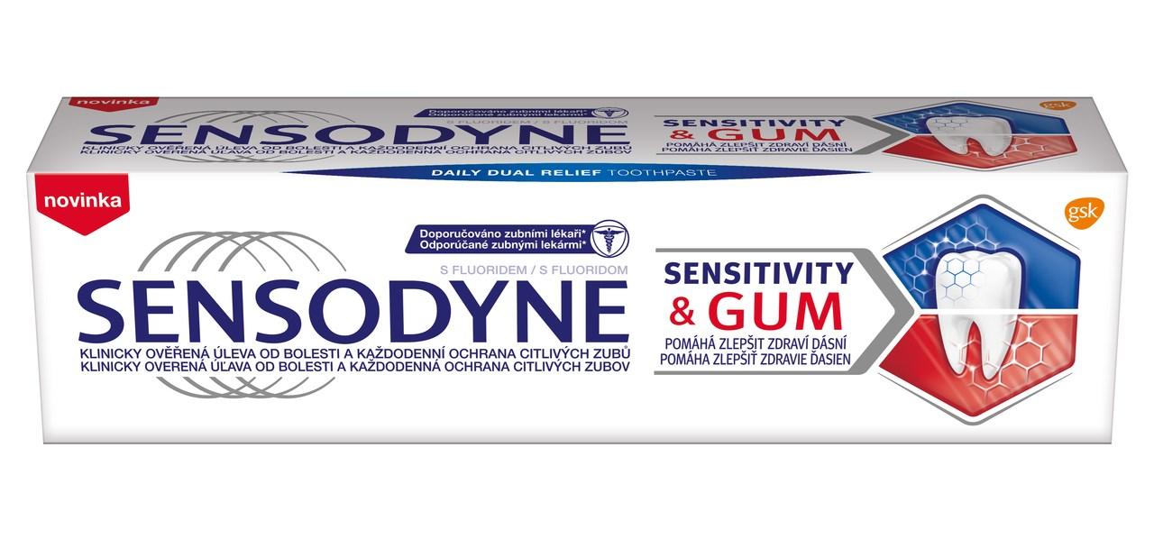 Sensodyne sensitivity&gum zubná pasta 1x75 ml