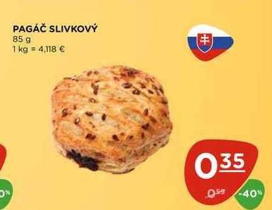PAGÁČ SLIVKOVÝ 85 g
