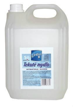 Linteo Tekuté mydlo biele 1x5 l