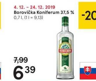 Borovička Koniferum 37,5 %, 0,7 l