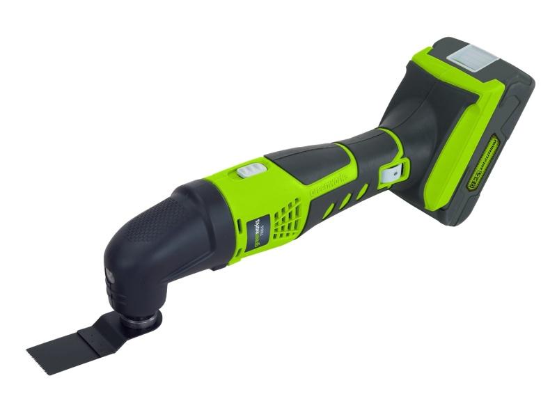 Aku oscilačná brúska Greenworks G24MT 24V