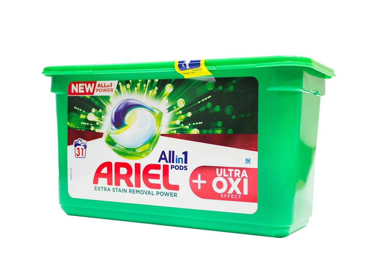 Ariel Ultra Oxi gélové kapsuly 1x31 ks