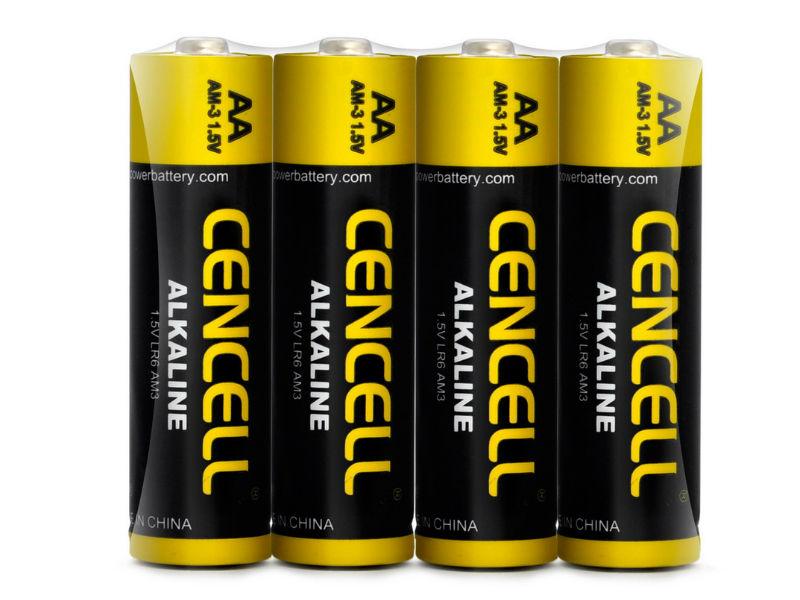 Alkalické batérie Cencell 4x AA