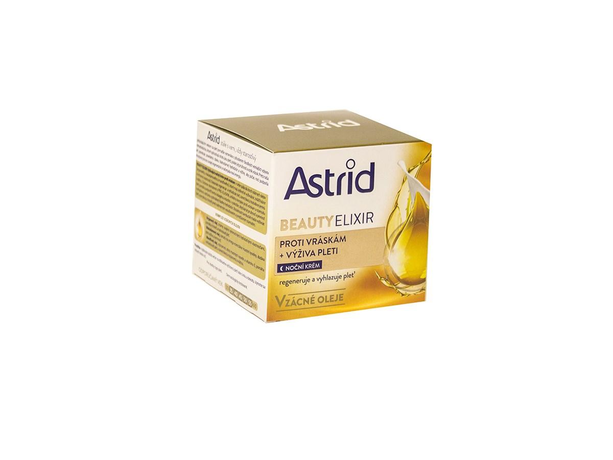 Astrid Beauty Elixír výživový krém 1x50 ml