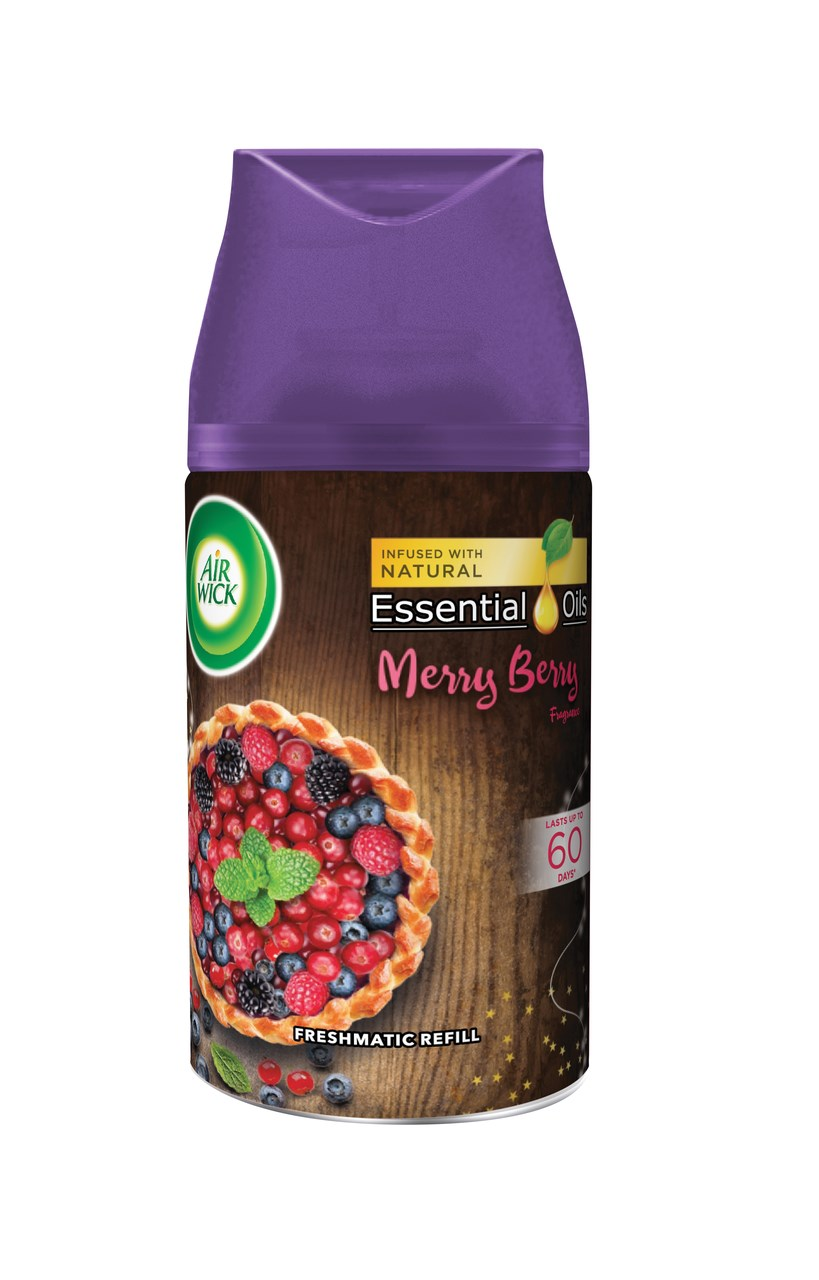 Air wick Essentials Oils Freshmatic Zimné ovocie n.náplň do osviežovača 1x250 ml