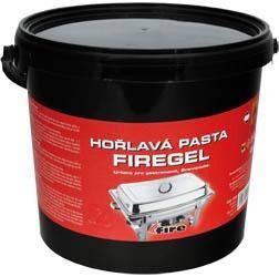 Horľavá pasta 4kg FireGel 1ks