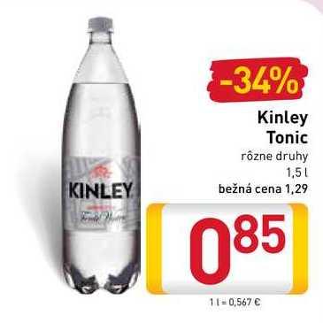 Kinley Tonic  1,5 l