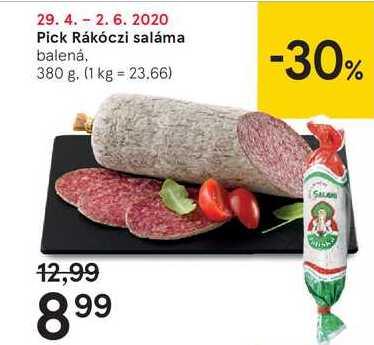 Pick Rákóczi saláma, 380 g