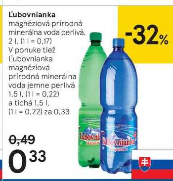 L'ubovnianka, 2 l