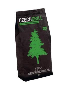 Drevené uhlie 10kg CZECHGRILL 1ks