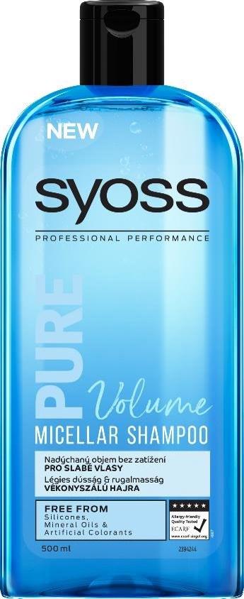 Syoss Pure Bounce šampón na vlasy 1x500 ml