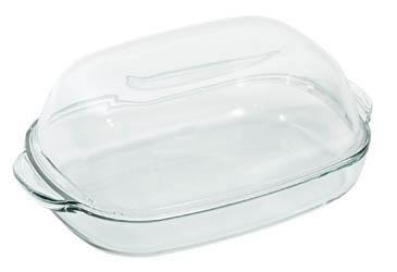 Pekáč sklenený + pokrievka 8l Simax 1ks
