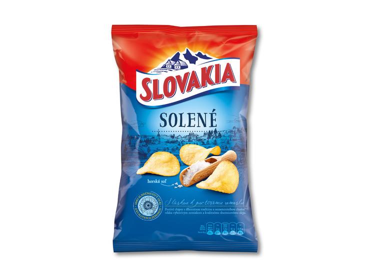 Slovakia zemiakové lupienky
