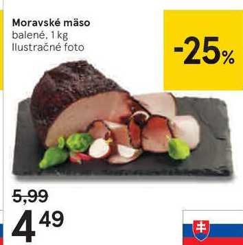 Moravské máso, 1 kg