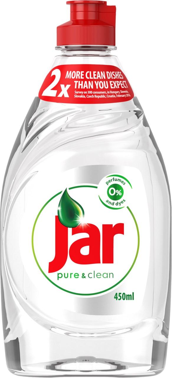 Jar pure&clean prostriedok na riad 21x450 ml