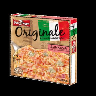 Pizza šunková 370g