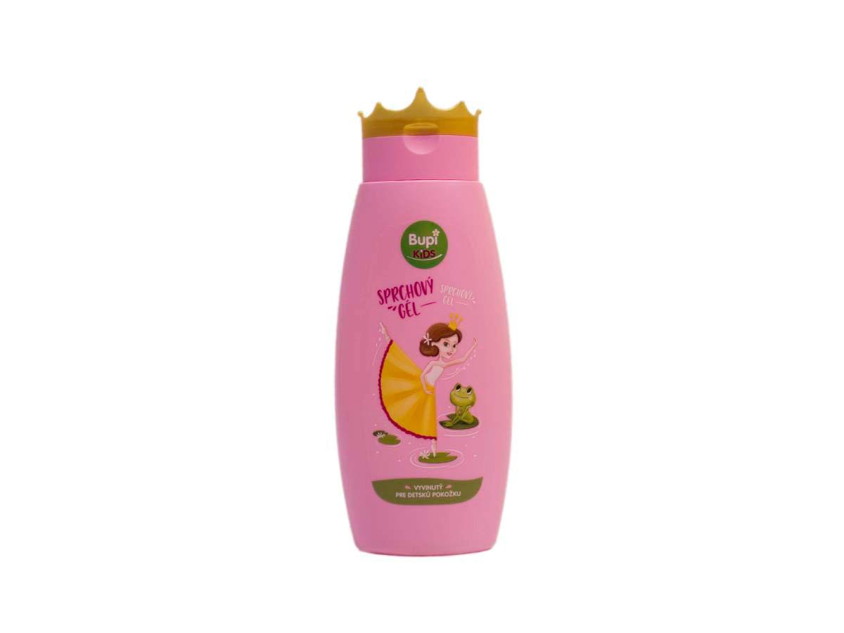 Bupu kids sprchový gél ružový 1x250 ml