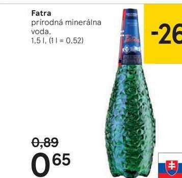 Fatra, 1,5 l