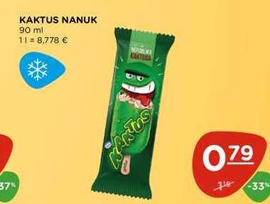 KAKTUS NANUK 90 ml