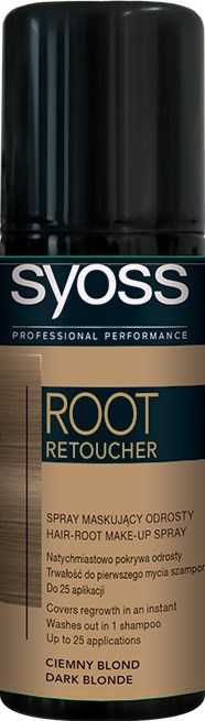 Syoss Root Retoucher tmavoplavý 1x120 ml