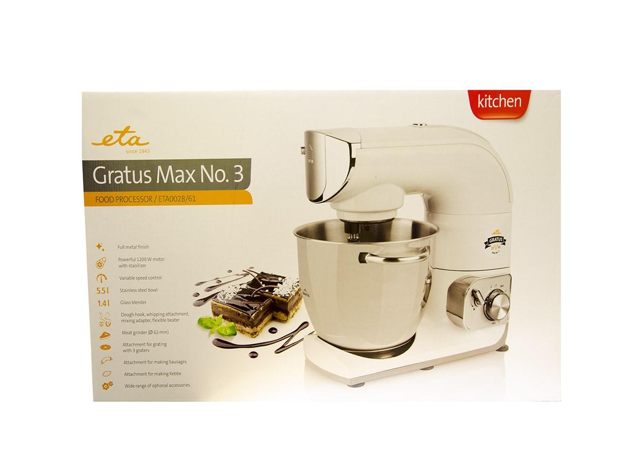 Kuchynský robot Gratus max 0028.90061 Eta 1ks