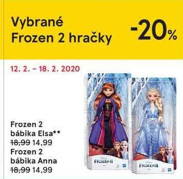 Frozen bábika Anna