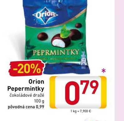 Orion Pepermintky 100 g