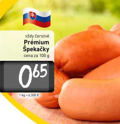 Prémium Špekačky  100 g